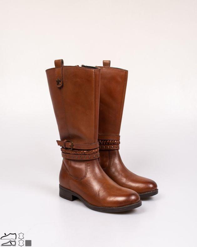 Cizme-inalte-din-piele-naturala-cu-fermoar-lateral-si-barete-cu-catarama-N902945001