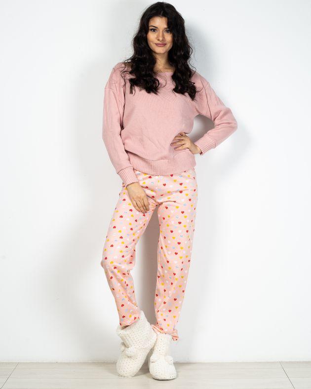 Pantaloni-de-pijama-cu-funda-din-bumbac