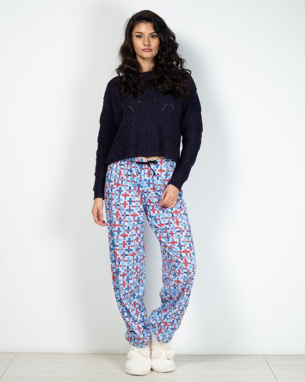 Pantaloni-de-pijama-din-bumbac-cu-elastic-in-talie-si-imprimeu-avioane-2024601099