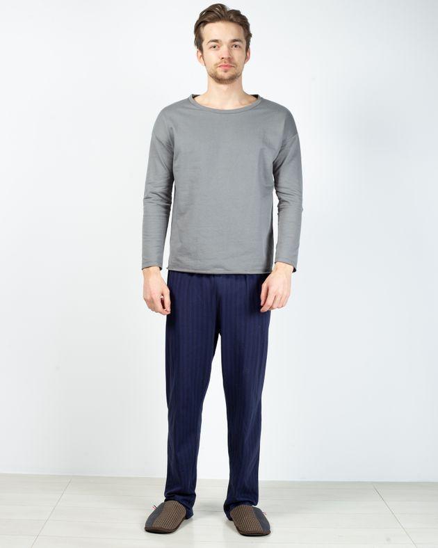 Pantaloni-de-pijama-din-bumbac-cu-buzunare-2028780001