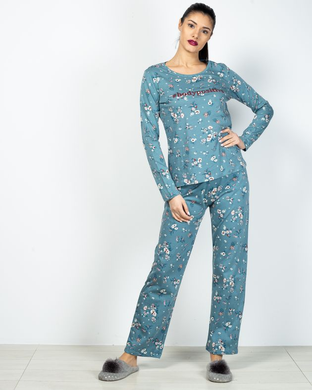 Pijamale-din-bumbac-cu-imprimeu-floral-20287D3001