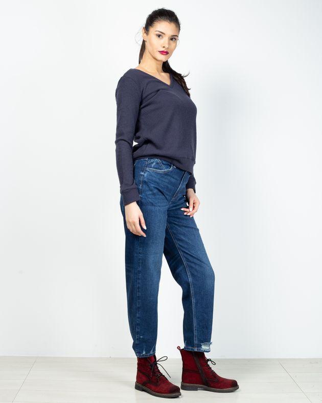 Jeans-din-demin-cu-talie-inalta-si-buzunare-2028706001