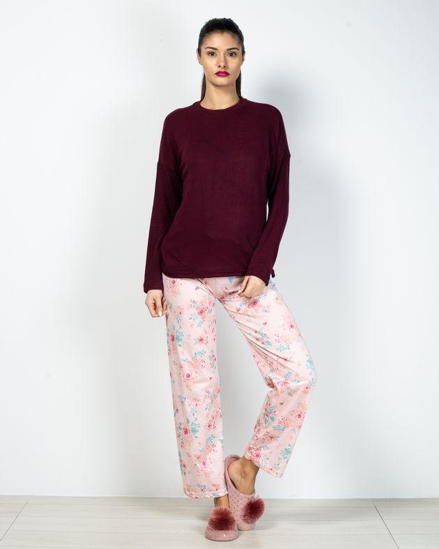 Pantaloni-de-pijama-din-bumbac-cu-imprimeu-floral-2028786013