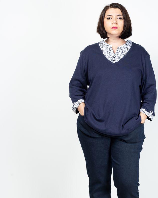 Bluza-din-bumbac-cu-maneca-trei-sferturi-si-nasturi-2030901080