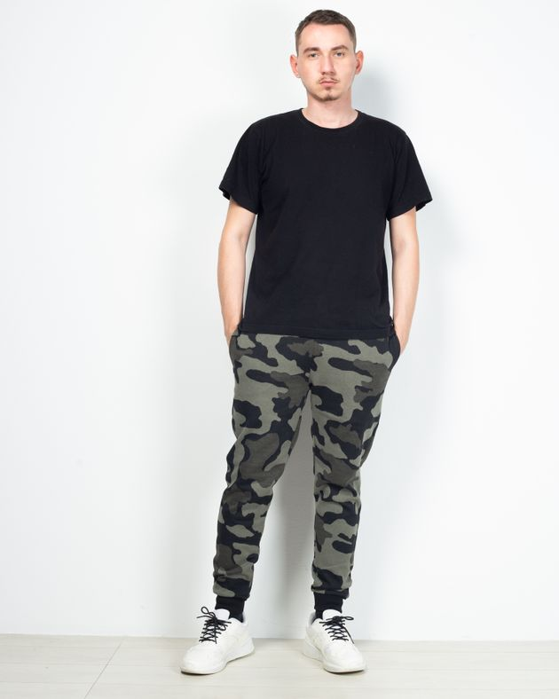 Pantaloni-de-trening-army-cu-buzunare-si-talie-elastica-2029132001