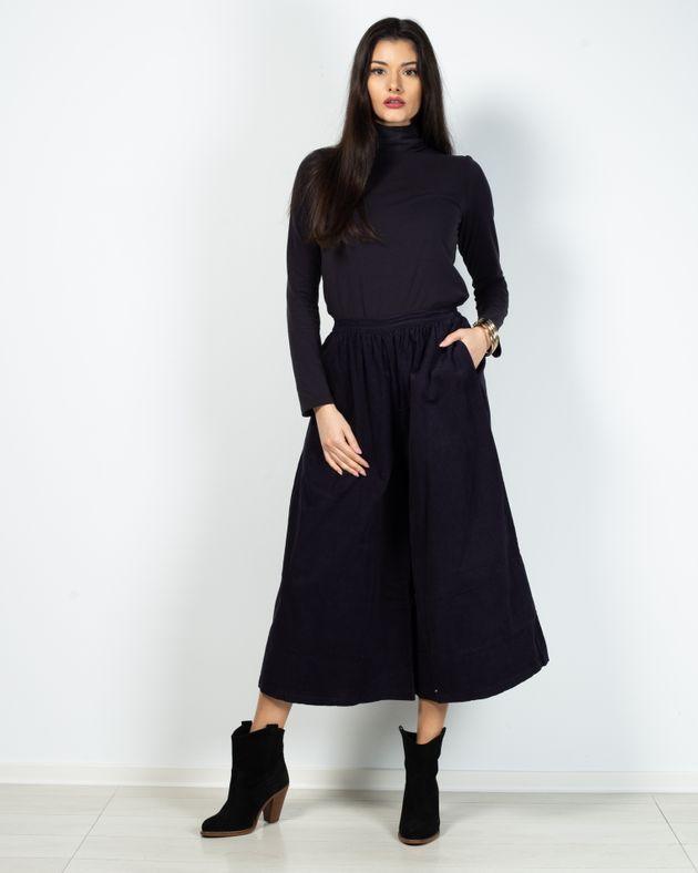 Pantaloni-culotte-cu-buzunare-si-talie-elastica-N903005001
