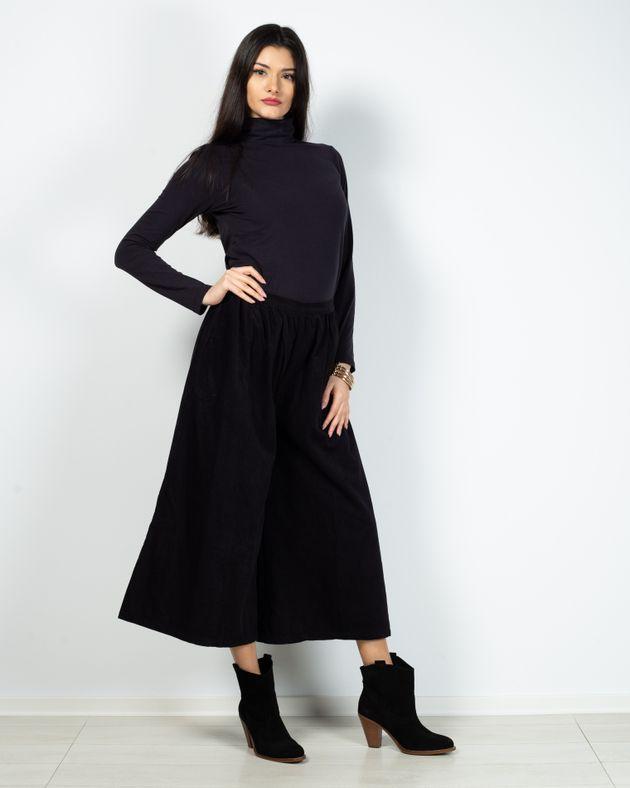 Pantaloni-culotte-din-bumbac-cu-buzunare-N903005002