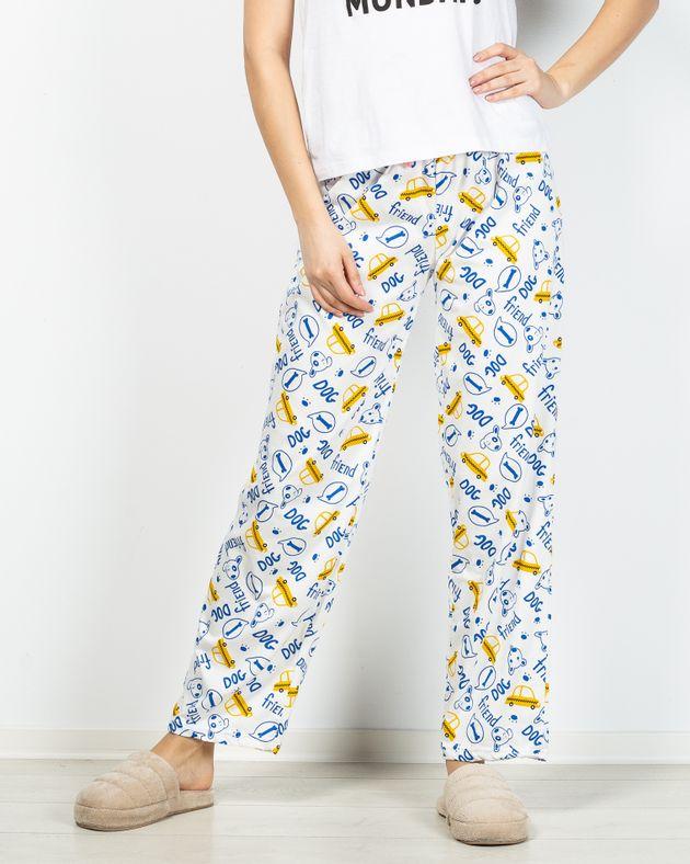 Pantaloni-de-pijama-din-bumbac-cu-elastic-in-talie-si-imprimeu-2101002004