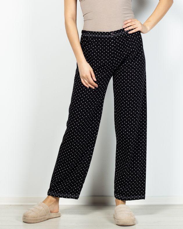 Pantaloni-de-pijama-din-bumbac-cu-elastic-in-talie-si-imprimeu-buline-2101002007