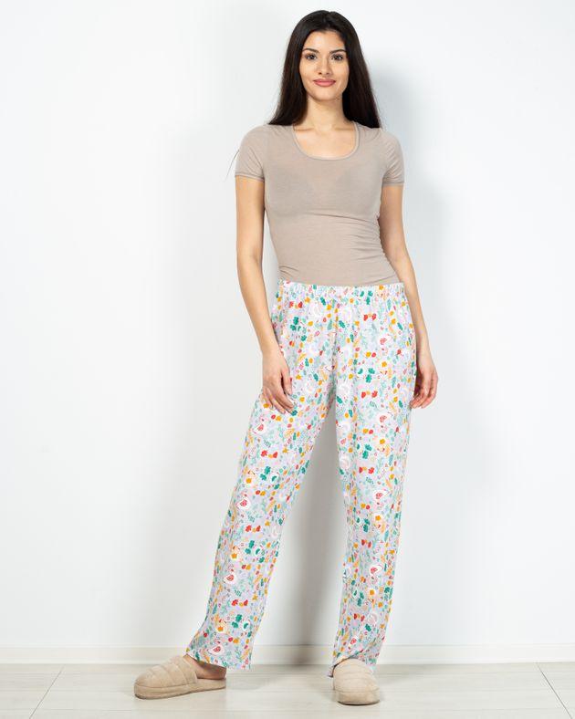 Pantaloni-de-pijama-din-bumbac-cu-elastic-in-talie-2101002042